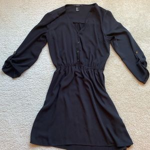 Simple black dress size small